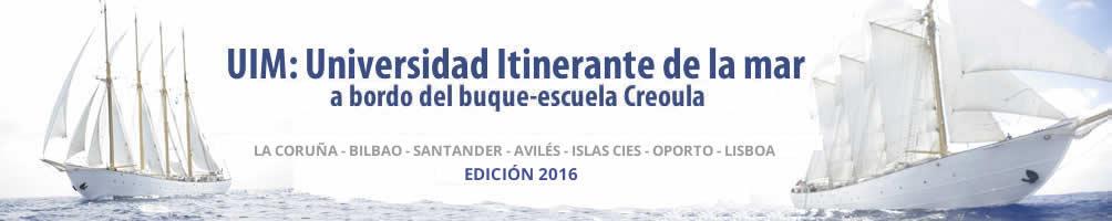 Universidad Itinerante de la mar a bordo del buque Creoula